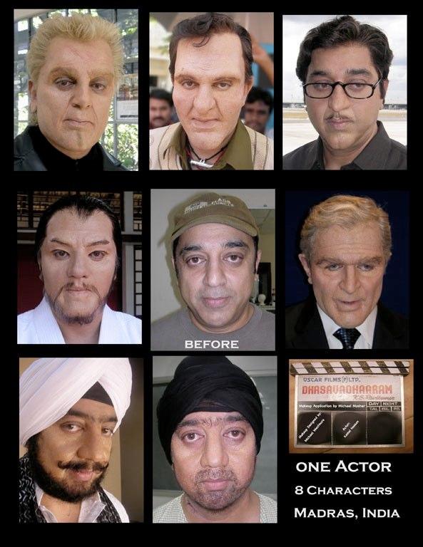 Kamal Hassan - 8 Characters