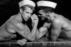 Justin Monroe Sailor Shoot